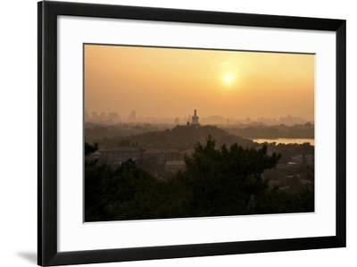 China 10MKm2 Collection - Beihai Park at Sunset-Philippe Hugonnard-Framed Photographic Print