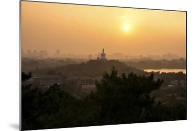 China 10MKm2 Collection - Beihai Park at Sunset-Philippe Hugonnard-Mounted Photographic Print
