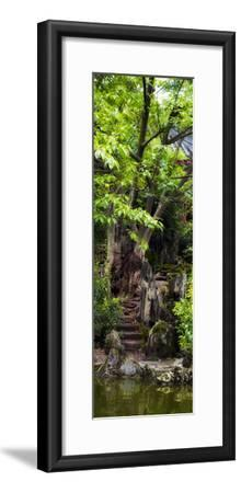 China 10MKm2 Collection - Chinese Pavilion in Garden-Philippe Hugonnard-Framed Photographic Print