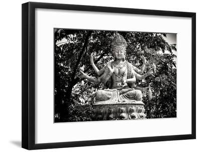 China 10MKm2 Collection - Buddhist Statue-Philippe Hugonnard-Framed Photographic Print