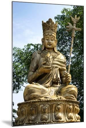 China 10MKm2 Collection - Buddhist Statue-Philippe Hugonnard-Mounted Photographic Print