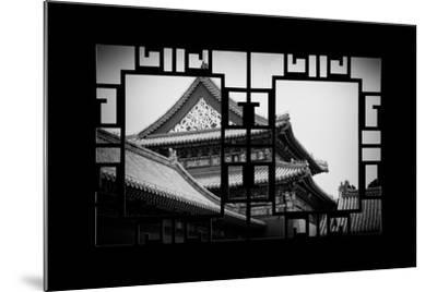 China 10MKm2 Collection - Asian Window - Forbidden City-Philippe Hugonnard-Mounted Photographic Print
