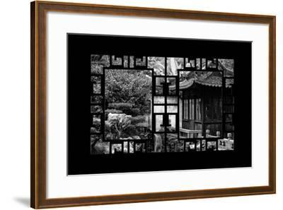 China 10MKm2 Collection - Asian Window - Classical Chinese Pavilion-Philippe Hugonnard-Framed Photographic Print
