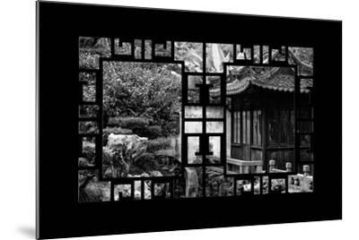 China 10MKm2 Collection - Asian Window - Classical Chinese Pavilion-Philippe Hugonnard-Mounted Photographic Print