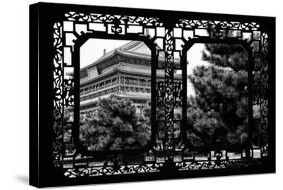 China 10MKm2 Collection - Asian Window - Temple Xi'an-Philippe Hugonnard-Stretched Canvas Print
