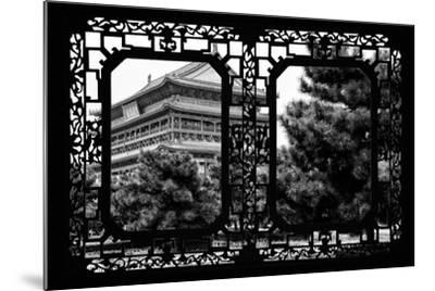 China 10MKm2 Collection - Asian Window - Temple Xi'an-Philippe Hugonnard-Mounted Photographic Print