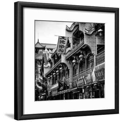 China 10MKm2 Collection - Chinese Architecture-Philippe Hugonnard-Framed Photographic Print