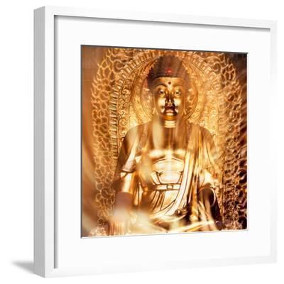 China 10MKm2 Collection - Gold Buddha-Philippe Hugonnard-Framed Photographic Print