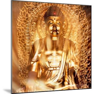 China 10MKm2 Collection - Gold Buddha-Philippe Hugonnard-Mounted Photographic Print