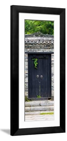 China 10MKm2 Collection - Buddhist Temple Door-Philippe Hugonnard-Framed Photographic Print