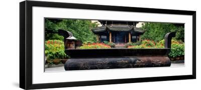 China 10MKm2 Collection - Chinese Buddhist Temple-Philippe Hugonnard-Framed Photographic Print