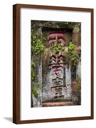 China 10MKm2 Collection - Buddhist Art-Philippe Hugonnard-Framed Photographic Print