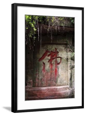 China 10MKm2 Collection - Buddhist Art-Philippe Hugonnard-Framed Photographic Print