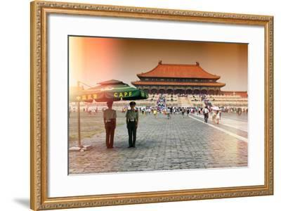 China 10MKm2 Collection - Instants Of Series - Forbidden City-Philippe Hugonnard-Framed Photographic Print