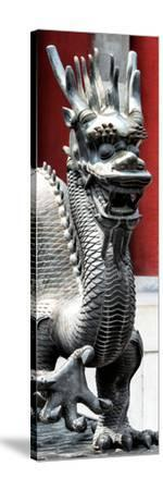 China 10MKm2 Collection - Dragon-Philippe Hugonnard-Stretched Canvas Print