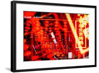 China 10MKm2 Collection - Instants Of Series - Redlight-Philippe Hugonnard-Framed Photographic Print