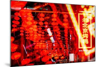 China 10MKm2 Collection - Instants Of Series - Redlight-Philippe Hugonnard-Mounted Photographic Print