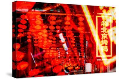 China 10MKm2 Collection - Instants Of Series - Redlight-Philippe Hugonnard-Stretched Canvas Print
