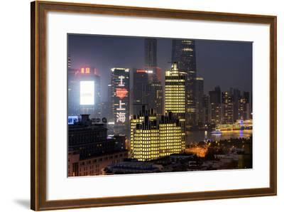 China 10MKm2 Collection - I Love Shanghai-Philippe Hugonnard-Framed Photographic Print