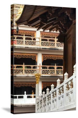 China 10MKm2 Collection - Jing An Temple - Shanghai-Philippe Hugonnard-Stretched Canvas Print