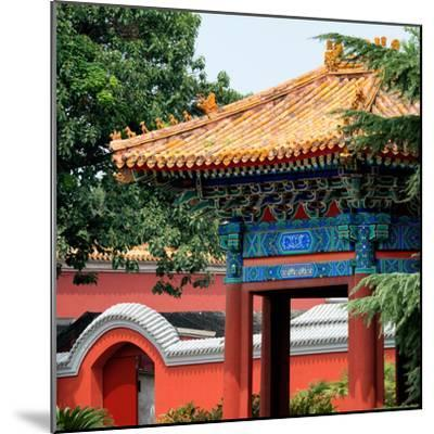 China 10MKm2 Collection - Forbidden City Architecture - Beijing-Philippe Hugonnard-Mounted Photographic Print
