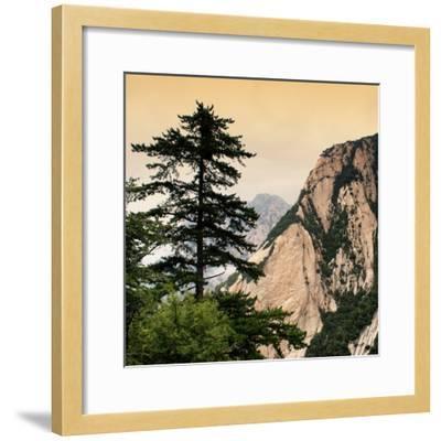 China 10MKm2 Collection - Mount Huashan - Shaanxi-Philippe Hugonnard-Framed Photographic Print