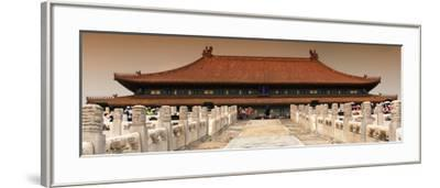 China 10MKm2 Collection - Stairs Forbidden City - Beijing-Philippe Hugonnard-Framed Photographic Print