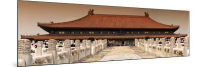 China 10MKm2 Collection - Stairs Forbidden City - Beijing-Philippe Hugonnard-Mounted Photographic Print