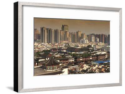 China 10MKm2 Collection - Shanghai Cityscape-Philippe Hugonnard-Framed Photographic Print