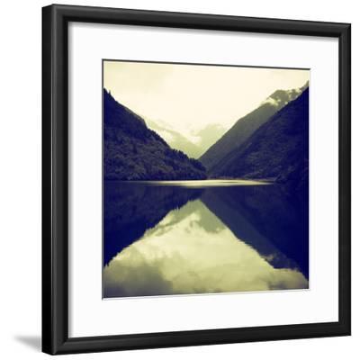 China 10MKm2 Collection - Rhinoceros Lake - Jiuzhaigou National Park-Philippe Hugonnard-Framed Photographic Print