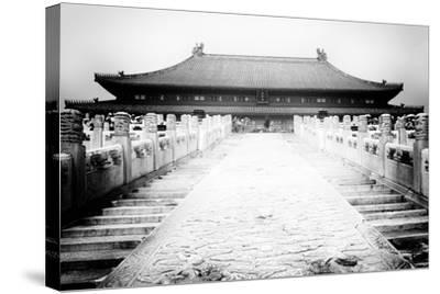 China 10MKm2 Collection - Stairs Forbidden City-Philippe Hugonnard-Stretched Canvas Print