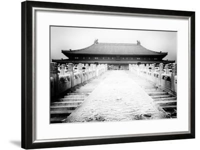 China 10MKm2 Collection - Stairs Forbidden City-Philippe Hugonnard-Framed Photographic Print