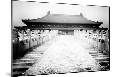 China 10MKm2 Collection - Stairs Forbidden City-Philippe Hugonnard-Mounted Photographic Print