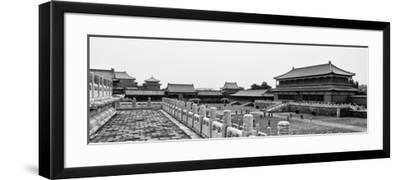 China 10MKm2 Collection - Palace Area of the Forbidden City - Beijing-Philippe Hugonnard-Framed Photographic Print