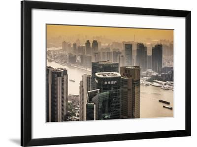 China 10MKm2 Collection - Shanghai-Philippe Hugonnard-Framed Photographic Print