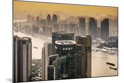 China 10MKm2 Collection - Shanghai-Philippe Hugonnard-Mounted Photographic Print