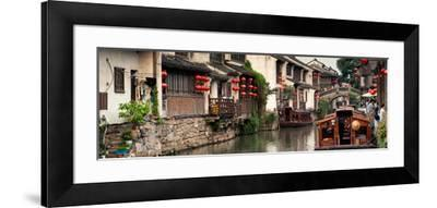 China 10MKm2 Collection - Shantang water Town - Suzhou-Philippe Hugonnard-Framed Photographic Print