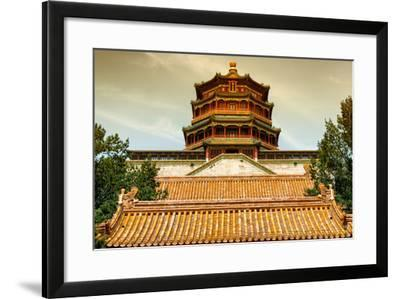 China 10MKm2 Collection - Summer Palace Temple-Philippe Hugonnard-Framed Photographic Print