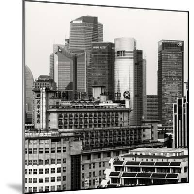 China 10MKm2 Collection - Shanghai Cityscape-Philippe Hugonnard-Mounted Photographic Print