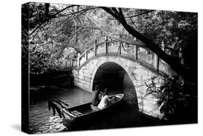 China 10MKm2 Collection - Romantic Boat Ride-Philippe Hugonnard-Stretched Canvas Print