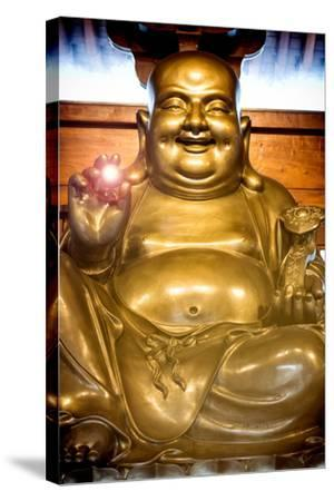 China 10MKm2 Collection - Instants Of Series - Gold Buddha-Philippe Hugonnard-Stretched Canvas Print