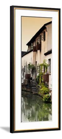 China 10MKm2 Collection - Shantang water Town - Suzhou-Philippe Hugonnard-Framed Photographic Print