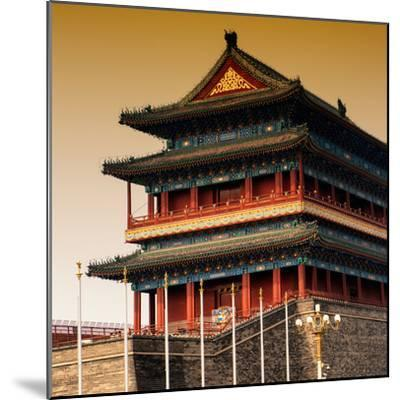 China 10MKm2 Collection - Qianmen Temple-Philippe Hugonnard-Mounted Photographic Print