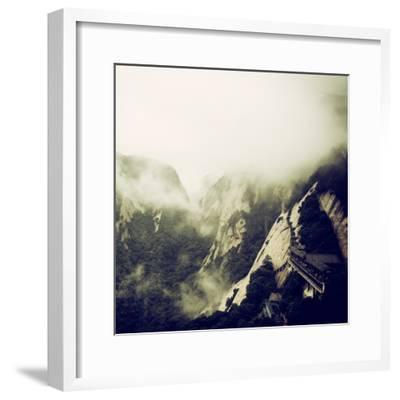 China 10MKm2 Collection - Mount Huashan - Shaanxi-Philippe Hugonnard-Framed Photographic Print