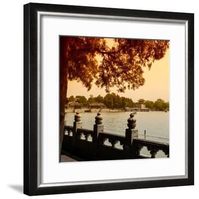 China 10MKm2 Collection - Kunming Lake - Beijing-Philippe Hugonnard-Framed Photographic Print