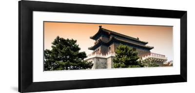China 10MKm2 Collection - Qianmen - Beijing-Philippe Hugonnard-Framed Photographic Print