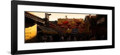 China 10MKm2 Collection - Red Lanterns-Philippe Hugonnard-Framed Photographic Print