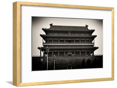 China 10MKm2 Collection - Qianmen-Philippe Hugonnard-Framed Photographic Print