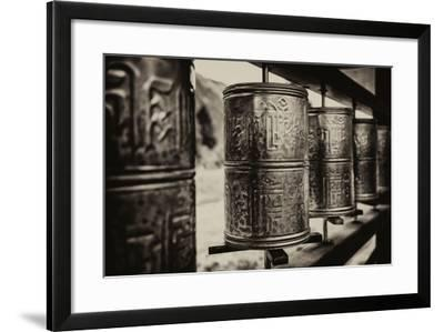 China 10MKm2 Collection - Prayer Wheels-Philippe Hugonnard-Framed Photographic Print