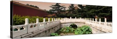 China 10MKm2 Collection - River of Gold - Forbidden City-Philippe Hugonnard-Stretched Canvas Print